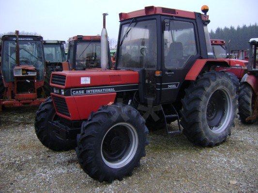 Tracteur agricole case ih 745 xl vendre sur marsaleix for Case agricole