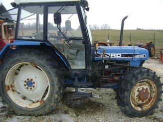 Tracteur agricole Ford 4830 - 2