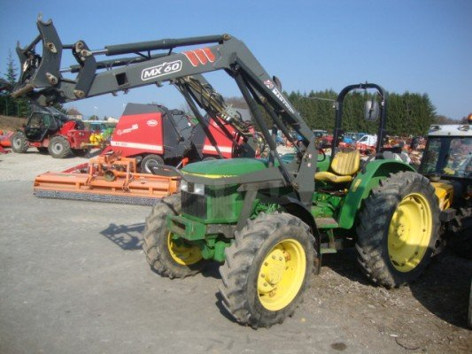 tracteur agricole john deere 5400 vendre sur marsaleix. Black Bedroom Furniture Sets. Home Design Ideas