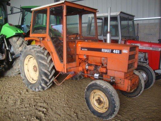 tracteur agricole renault 461 vendre sur marsaleix. Black Bedroom Furniture Sets. Home Design Ideas