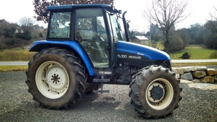 Tracteur agricole New Holland TL 100 - 2