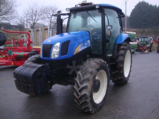 Tracteur agricole New Holland T6010 - 1