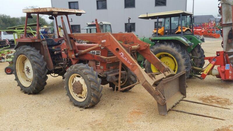 Tracteur agricole fiatagri 65 66 vendre sur marsaleix - Vide hangar materiel agricole occasion ...