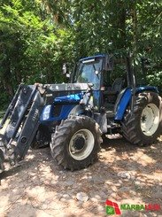 Tracteur agricole New Holland TL80A - 1